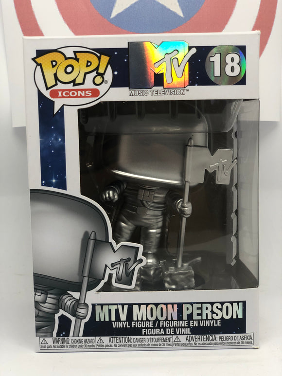 MTV - Moon Person Pop! Vinyl