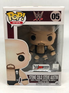 WWE - Stone Cold Steve Austin W2K316 Exclusive Pop! Vinyl