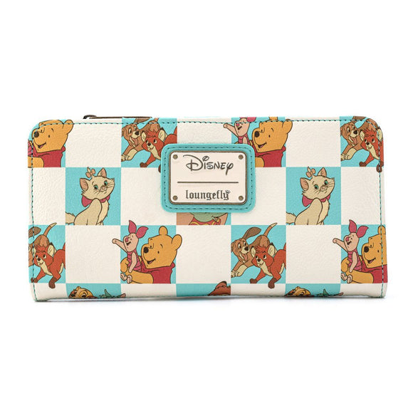 Disney - Mint Checker Loungefly Purse