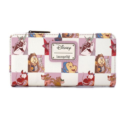 Disney - Rose Checker Loungefly Purse