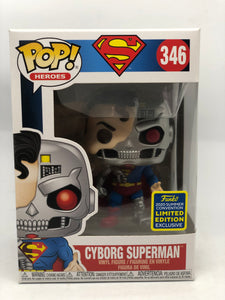 Superman - Cyborg Superman SDCC 2020 US Exclusive Pop! Vinyl [RS]