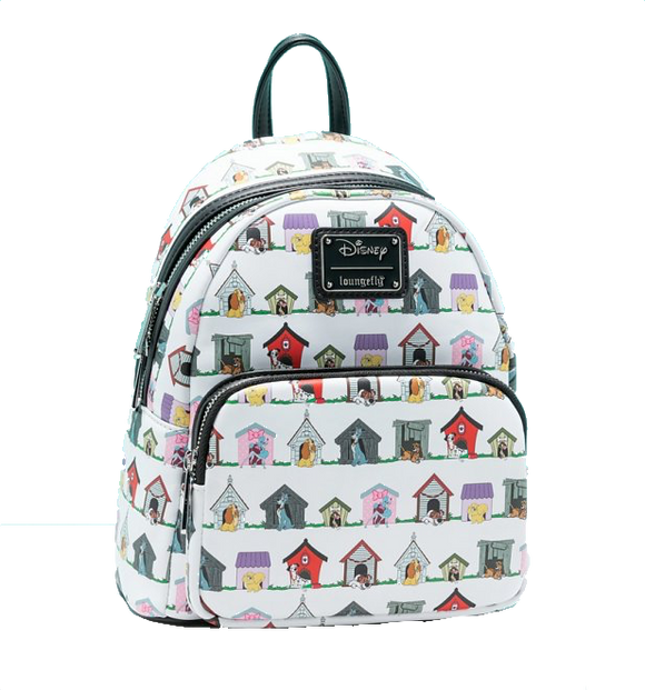 Disney - Loungefly Doghouses Mini Backpack