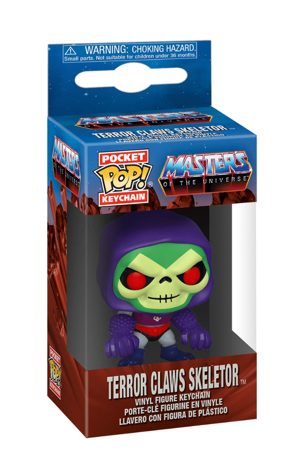 Masters of the Universe - Skeletor with Terror Claws Pocket Pop! Keychain