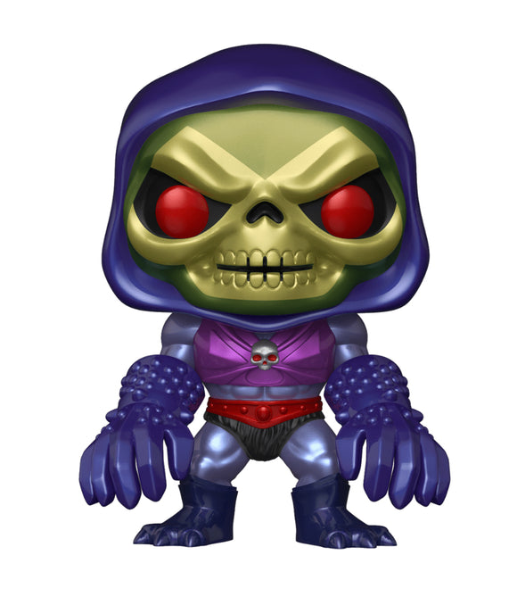 Masters of the Universe - Skeletor with Terror Claws Metallic US Exclusive Pop! Vinyl [RS]