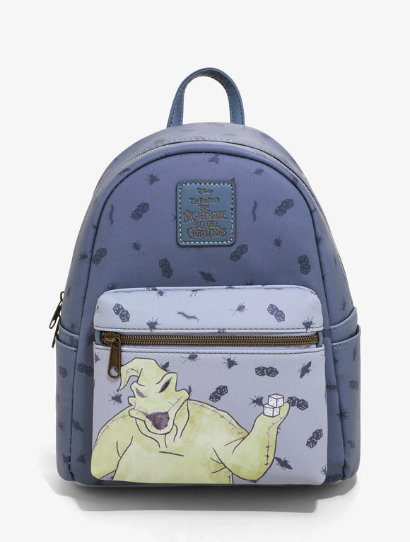 Disney - Loungefly The Nightmare Before Christmas Oogie Boogie Grey US Exclusive Mini Backpack