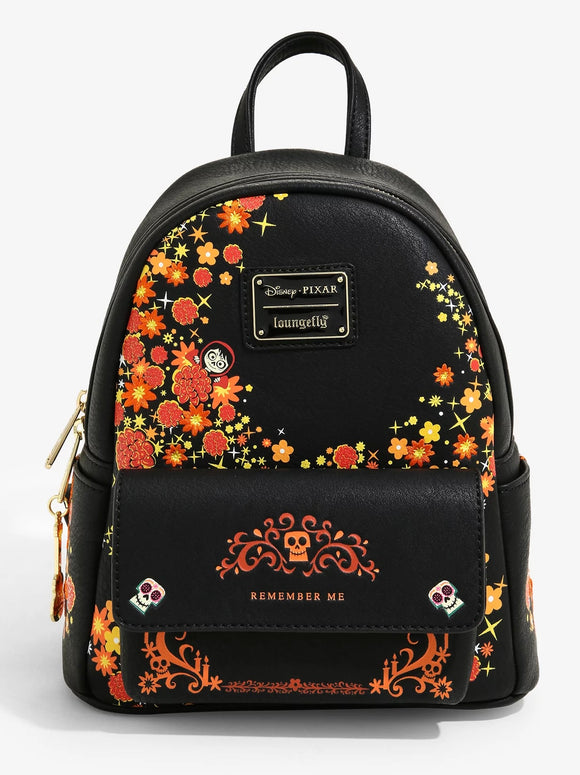 Pixar - BoxLunch Exclusive Loungefly Coco Remember Me Mini Backpack