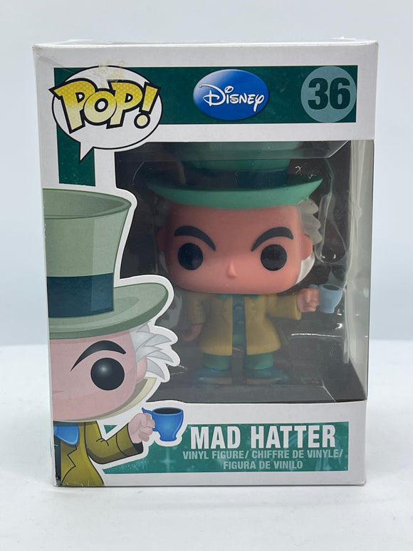 Alice in Wonderland - Mad Hatter Pop! Vinyl