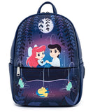 The Little Mermaid - Loungefly Gondola Scene Mini Backpack