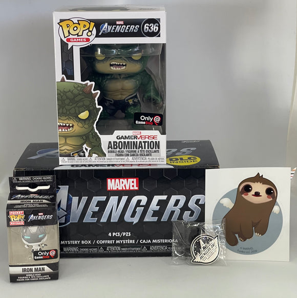 Funko Marvel Collector - Gamerverse Marvel Avengers DLC Collectors Mystery Box