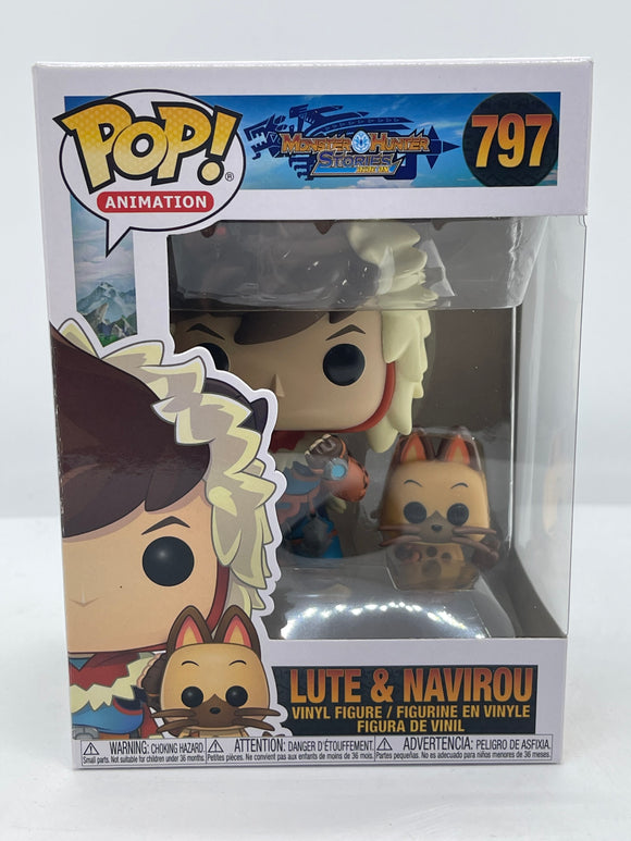 Monster Hunter Stories - Lute with Navirou Pop! Vinyl