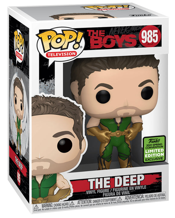 The Boys - The Deep ECCC 2021 Excl Pop Vinyl