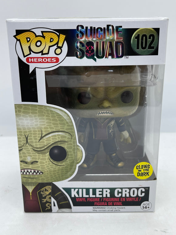 Suicide Squad - Killer Croc Glow US Exclusive Pop! Vinyl