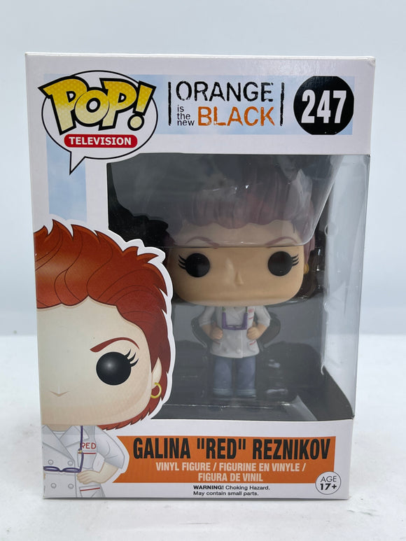 Orange is The New Black - Galina 'Red' Reznikov Pop! Vinyl