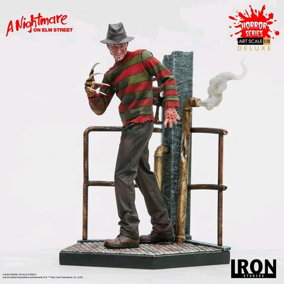 Nightmare on Elm Street - Freddy Deluxe 1:10 Scale Statue