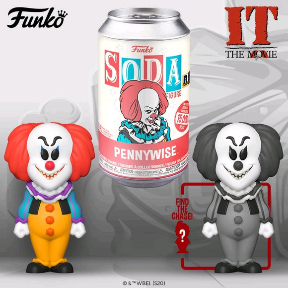 It (1990) - Pennywise (with chase) US Exclusive Vinyl Soda [RS]