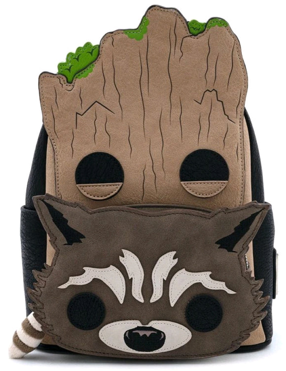 Guardians of the Galaxy - Loungefly Groot and Rocket Backpack