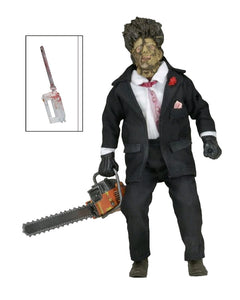 "The Texas Chainsaw Massacre 2 - Leatherface 30th Anniversary 8"" Clothed Action Figure"