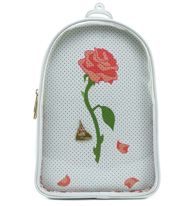 Beauty and the Beast - Loungefly Pin Trader Backpack with Pin