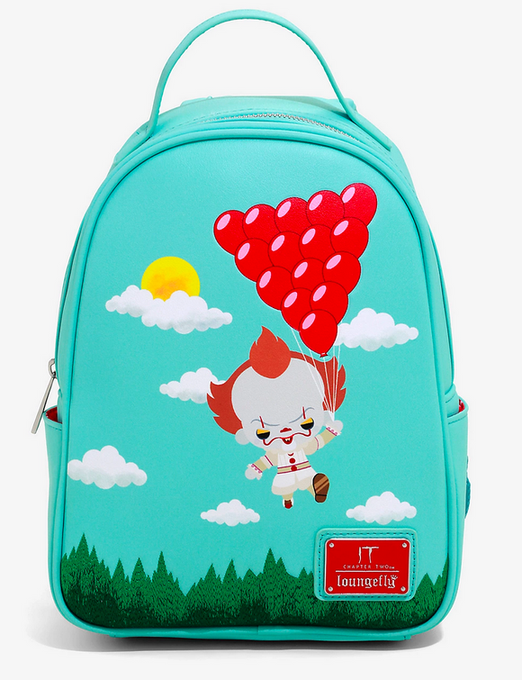 IT - BoxLunch Exclusive Loungefly Flying Balloons Mini Backpack