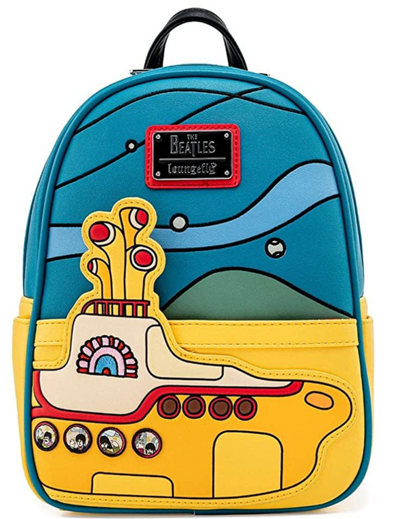 The Beatles - Yellow Submarine US Exclusive Loungefly Mini Backpack