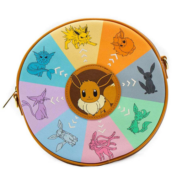 Pokemon - Eevee Evolutions Canteen Loungefly Crossbody
