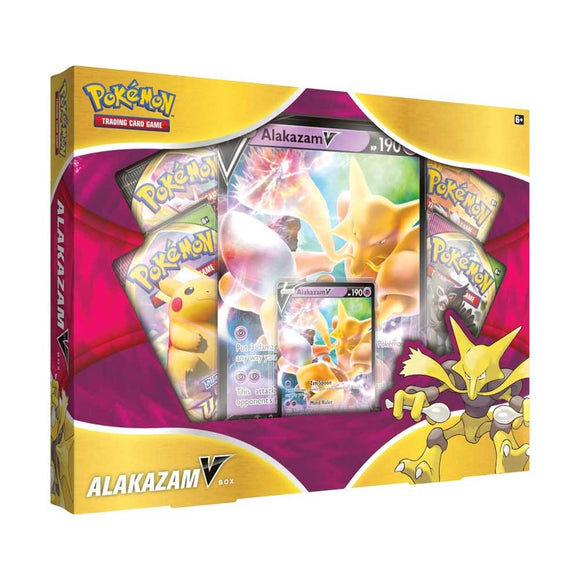 Pokemon - TCG - Alakazam V Box