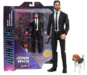 "John Wick - John Wick with Dog 7"" Action Figure"