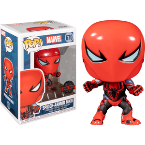 Spider-Man - Spider-Armor MK III US Exclusive Pop! Vinyl [RS]