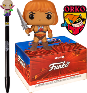 Masters of the Universe - He-Man Flocked Exclusive Collector Box