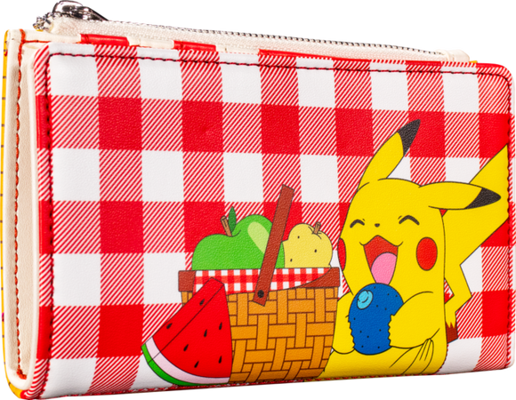 Pokemon - Pikachu Picnic Basket Flap Loungefly Purse