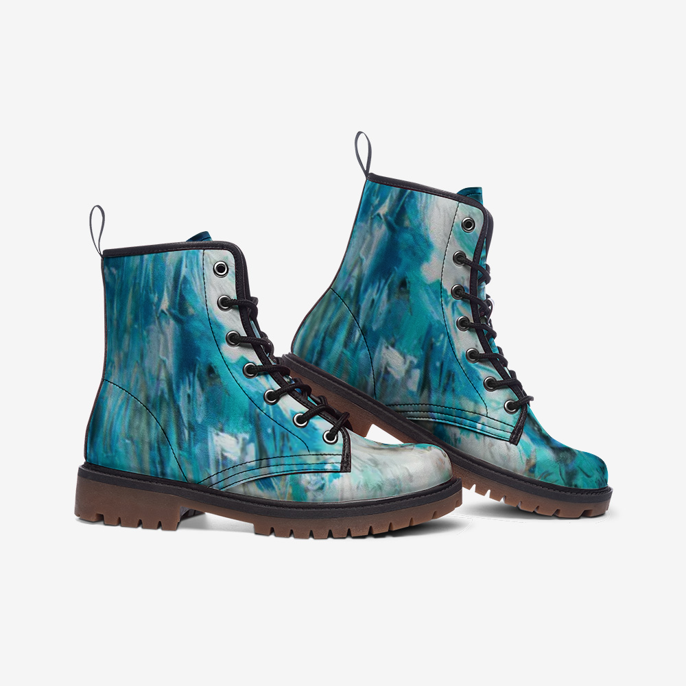 """MerMind"" Leather Boots"