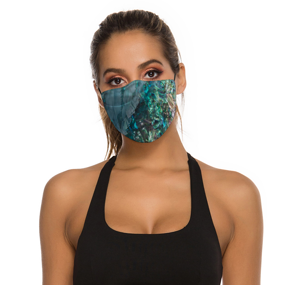 """Emerald"" Face Mask with Filter"