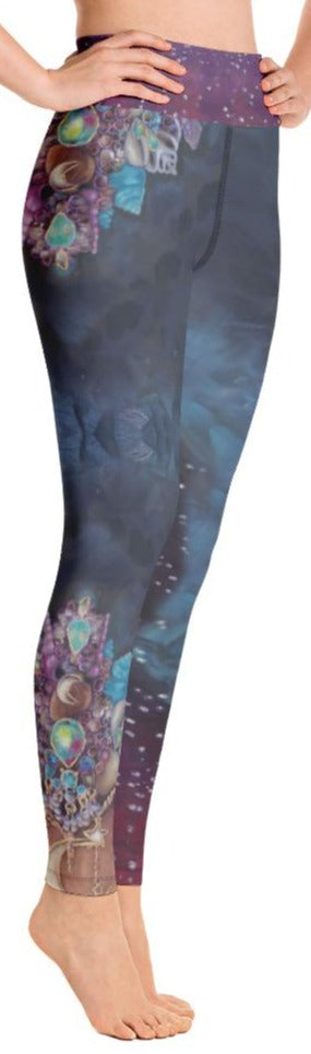 """Celestial Goddess"" Yoga Leggings"
