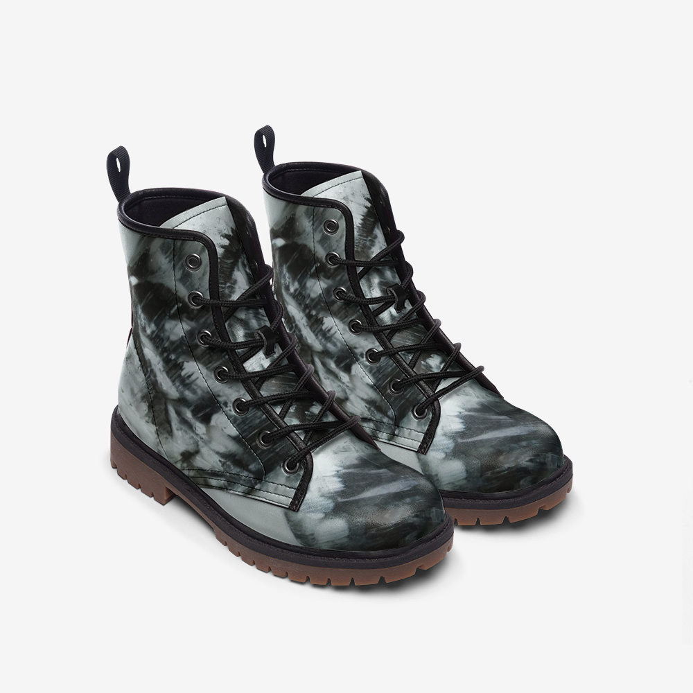 """Enlightenment"" Leather Boots"