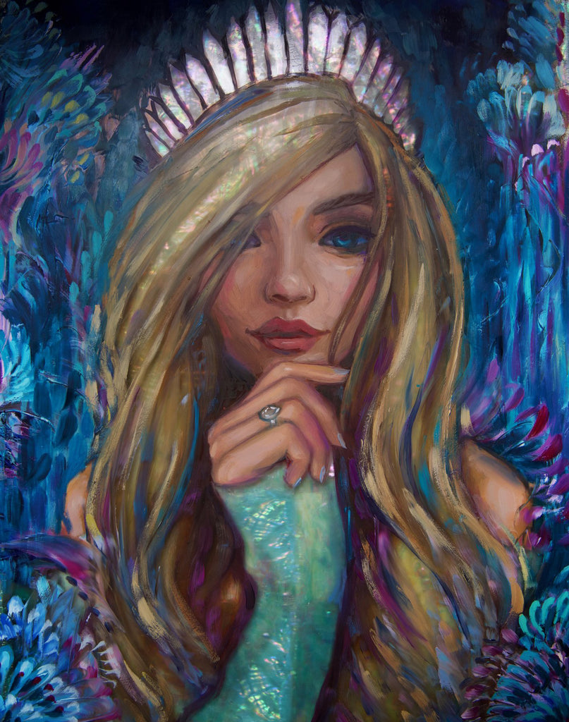 """Crystal Crown"" <br/> Soon to be Released <br/> 11"" x 14"" <br/> Payment plans available from $63.46 per week"