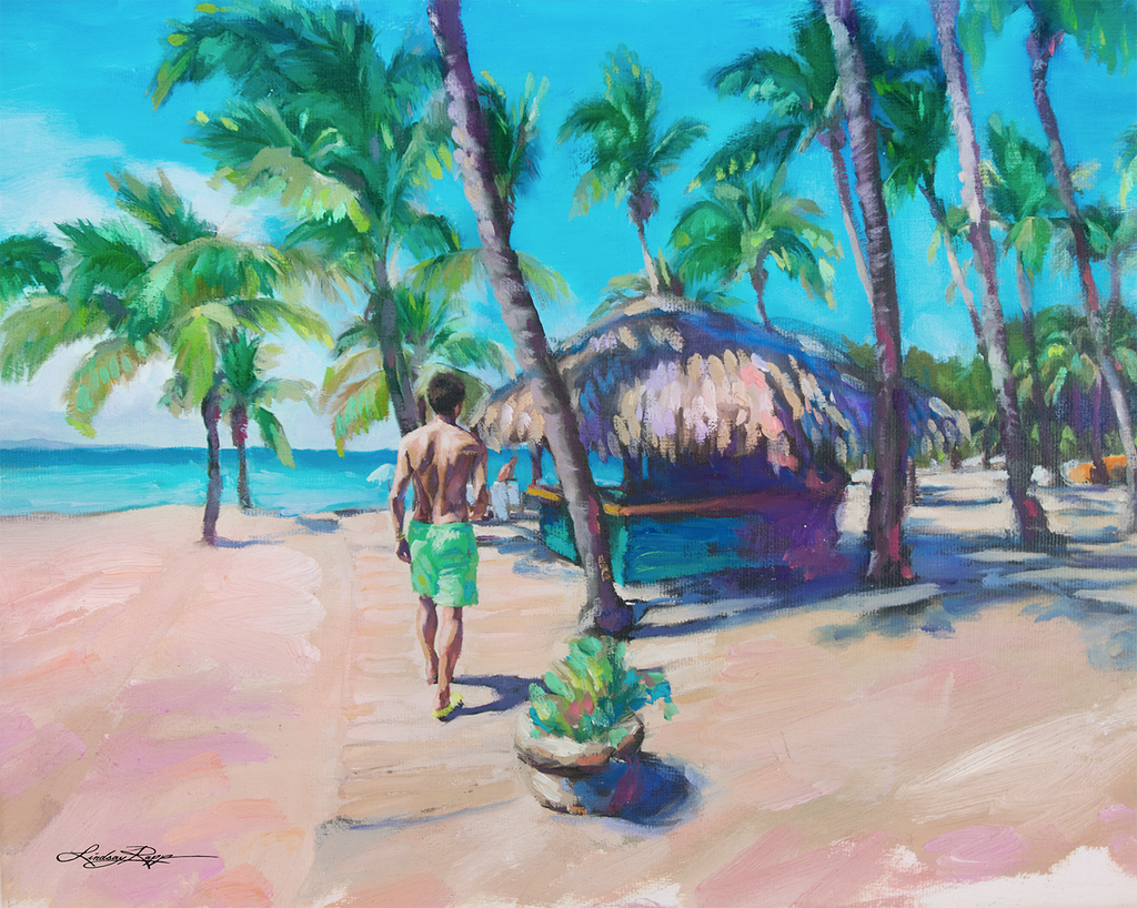 """Dominican Republic"" <br/> Painting"