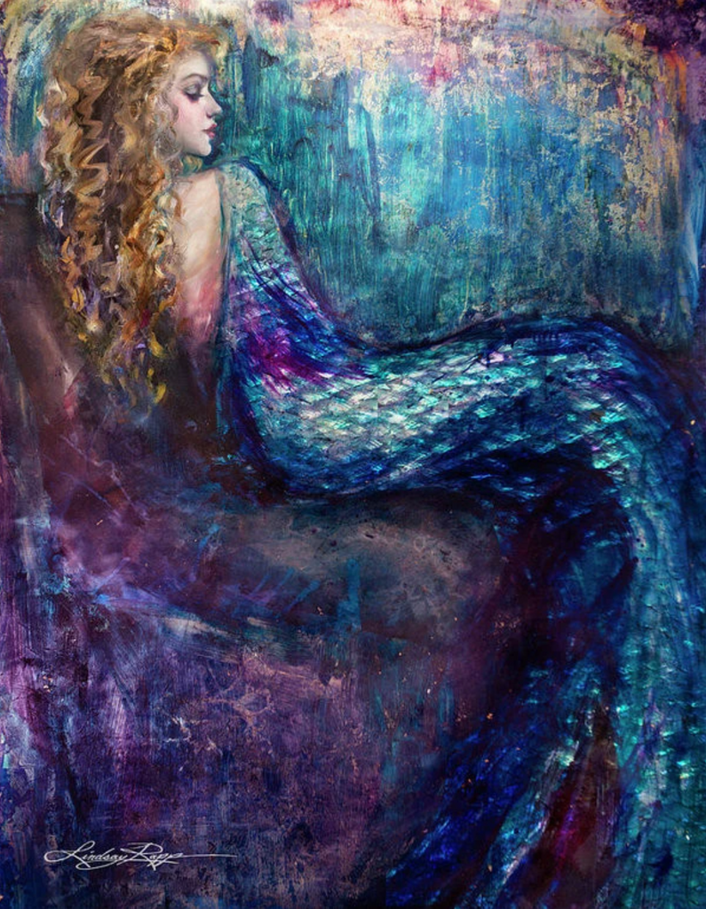 """Elizabethan Mermaid"" Prints"