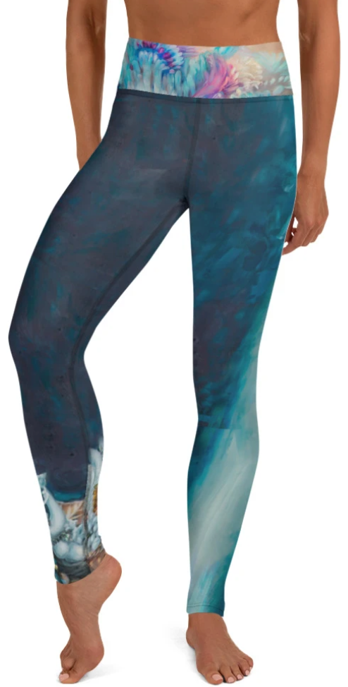 """Sea Queen"" Yoga Leggings"