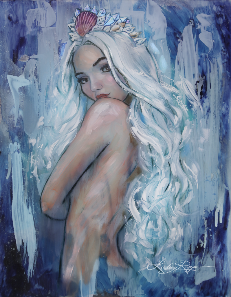 """Arctic Majesty"" <br/> Original Painting <br/> in Private Collection at Elk Grove, CA"