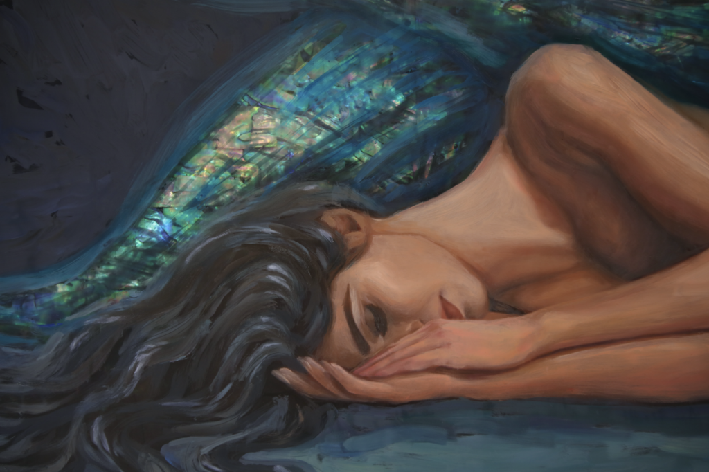 """Dreaming"" <br/> Original Painting <br/>12"" x 24"""