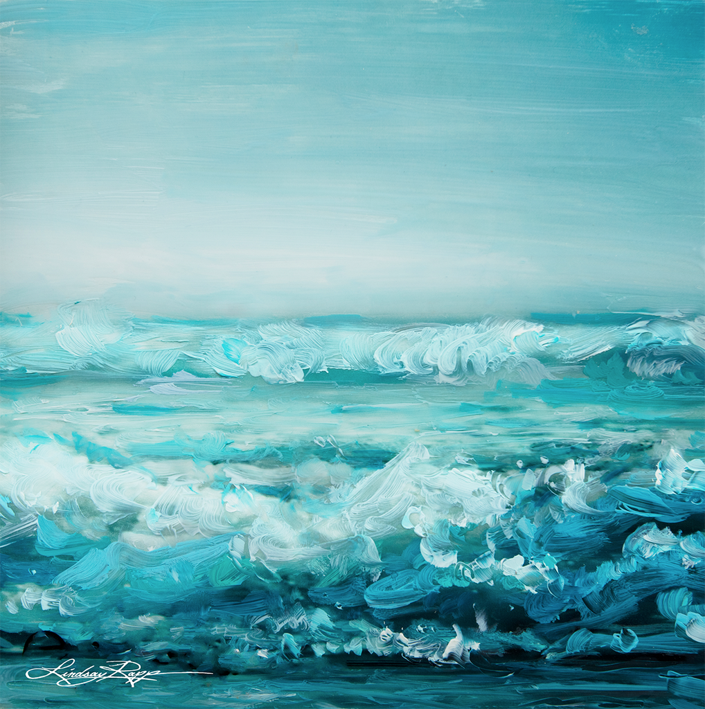 """Shore Foam"" <br/> Painting"