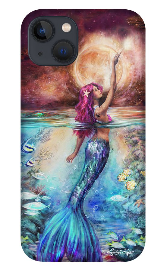 """Moonlit Siren"" iPhone Case"