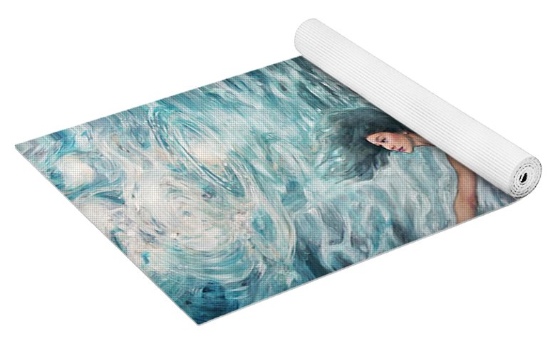 """Arabesque"" Yoga Mat"