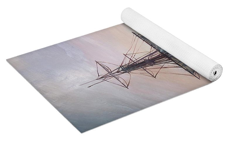 """Sunset Arrival"" Yoga Mat"