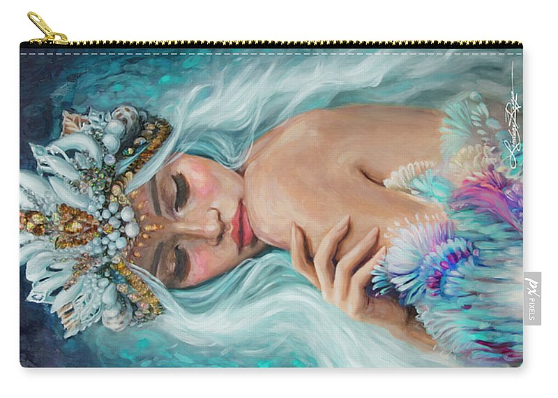 """Sea Queen"" Pouch"