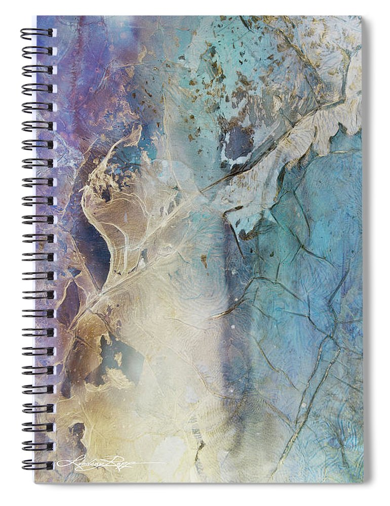 Coral Break Landscape - Spiral Notebook