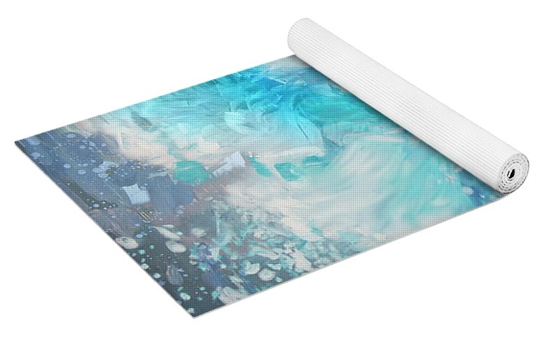 """Sea of Thoughts"" Yoga Mat"