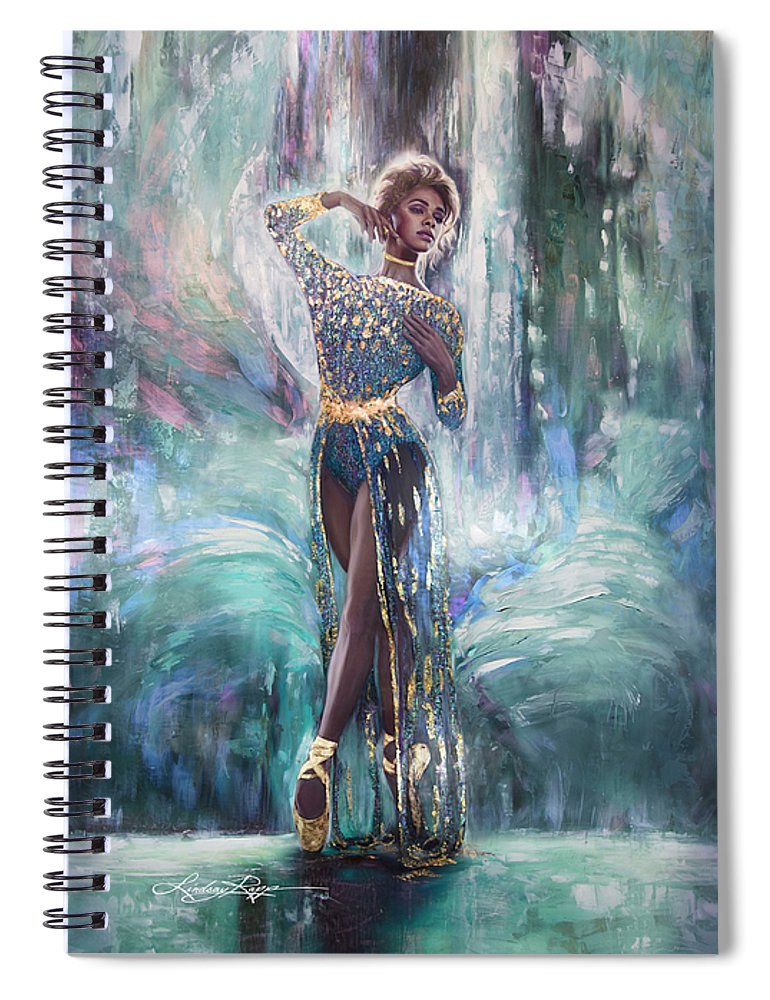 """Misty Copeland"" Spiral Notebook"