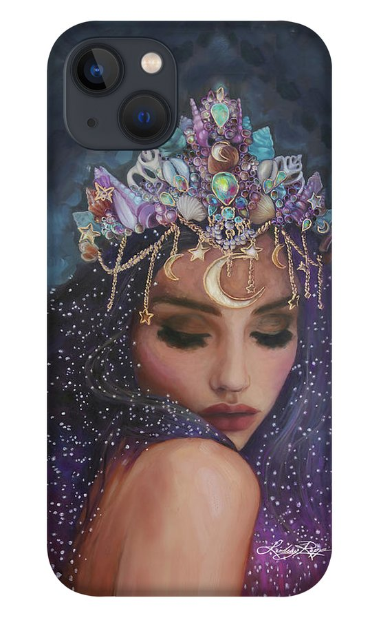 """Celestial Goddess"" iPhone Case"