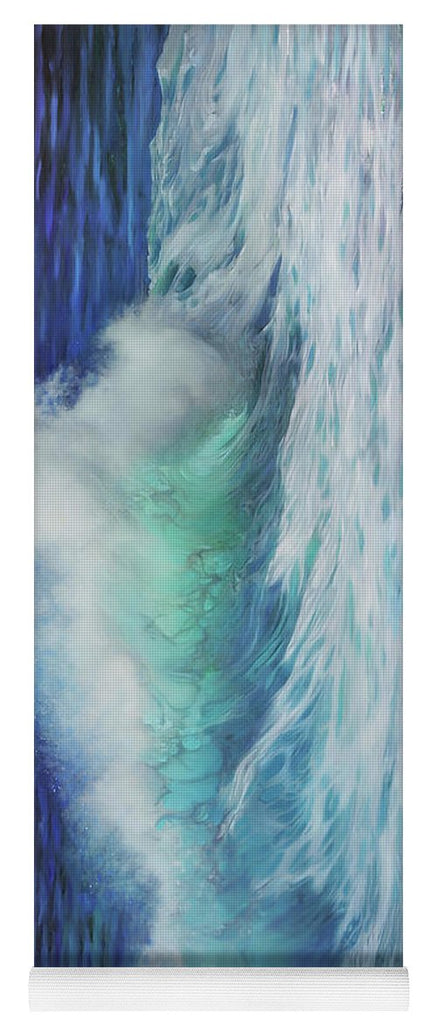 """Summer Wave"" Yoga Mat"